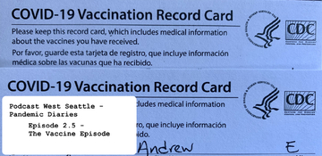 Pandemic Diaries 2.5 – The Vaccine Episode